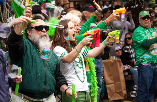 St Patrick's Day Parage