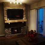 The Fifth 1002 - Custom Fireplace