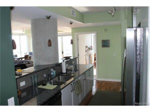 Open Kitchen with Bar Counter